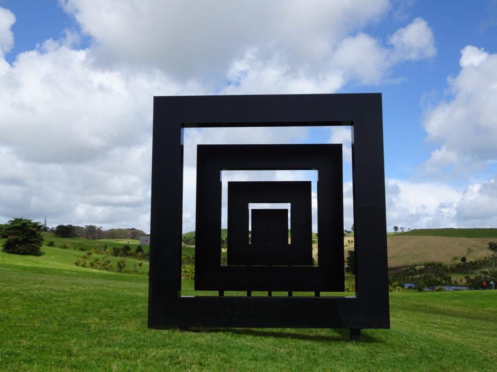 Gibbs Farm - Untitled (Red Square-Black Square) 4