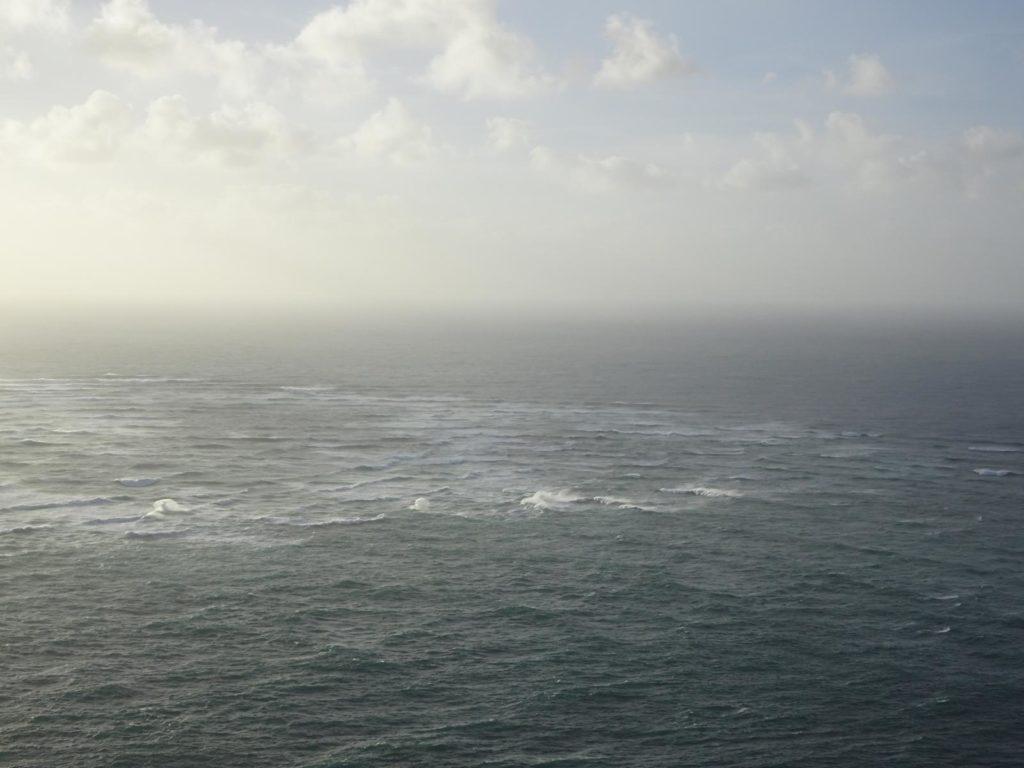 Cape Reinga - Der Pazifik trifft auf die Tasmanische See