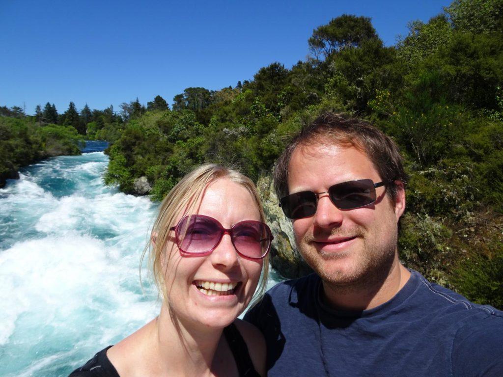 Huka Falls - Selfie
