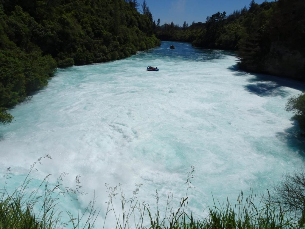 Huka Falls - Speed Boat