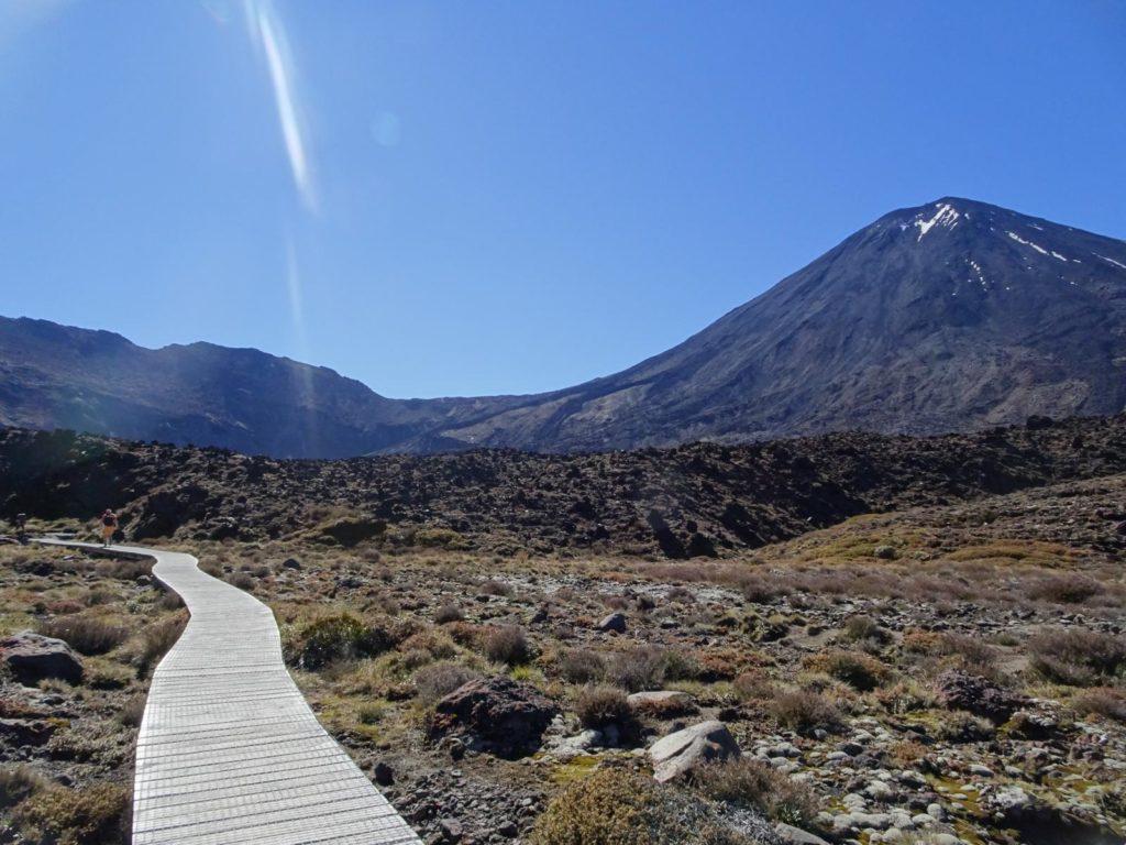 Tongariro Alpine Crossing - Die ersten Meter