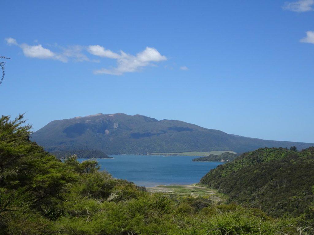 Waimangu Volcanic Valley - Frying Pan Lake Blick vom Mt. Haszard Trail