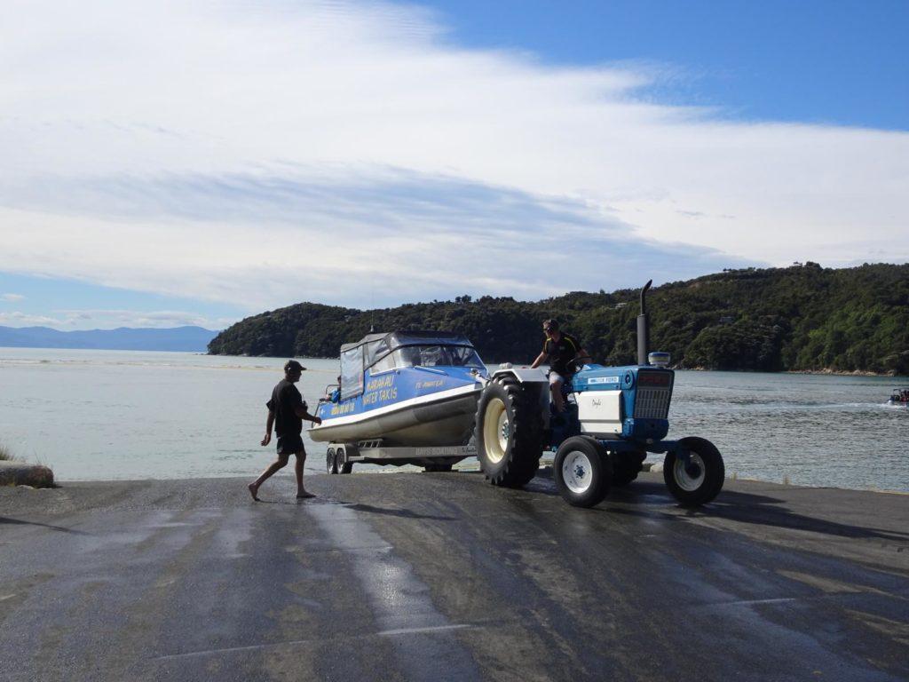 Abel Tasman Coastal Track - Wassertaxi