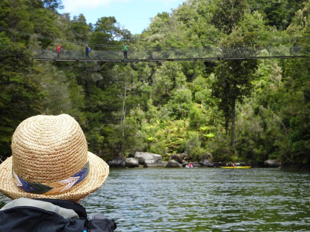 Kayak Abel Tasman - Abstecher auf den Falls River