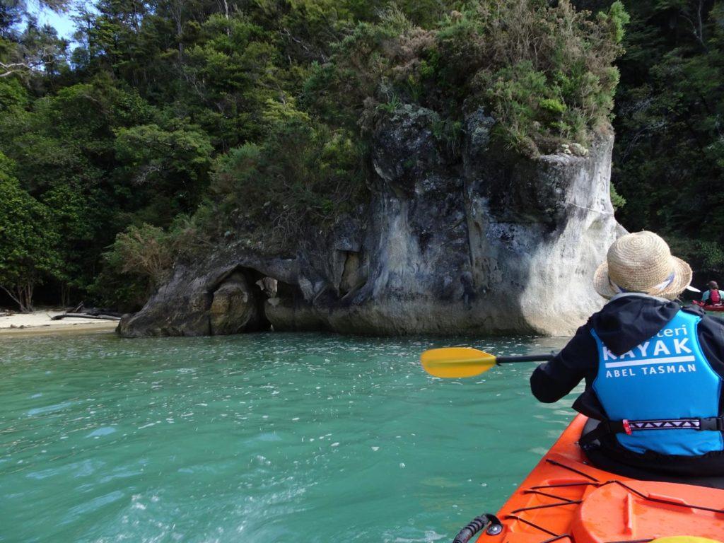 Kayak Abel Tasman - Die ersten Meter