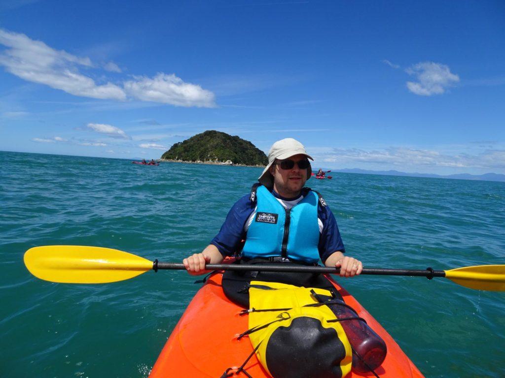 Kayak Abel Tasman - Fast am Ende