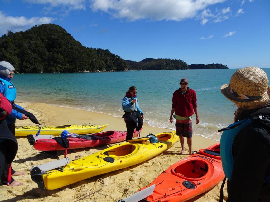 Kayak Abel Tasman - Gleich geht's los