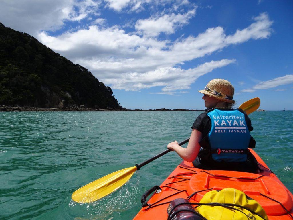 Kayak Abel Tasman - Unterwegs entlang der Küste