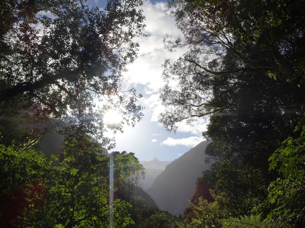 Blick von der Glacier View Road