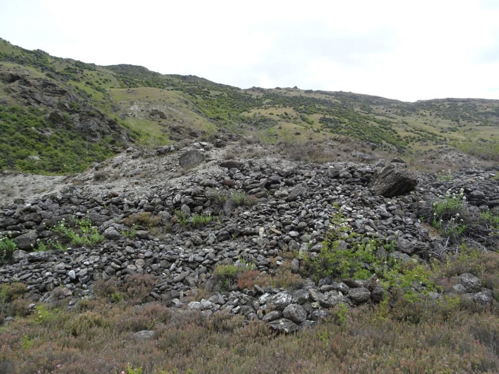 Gold Fields Mining Center - Rock pile
