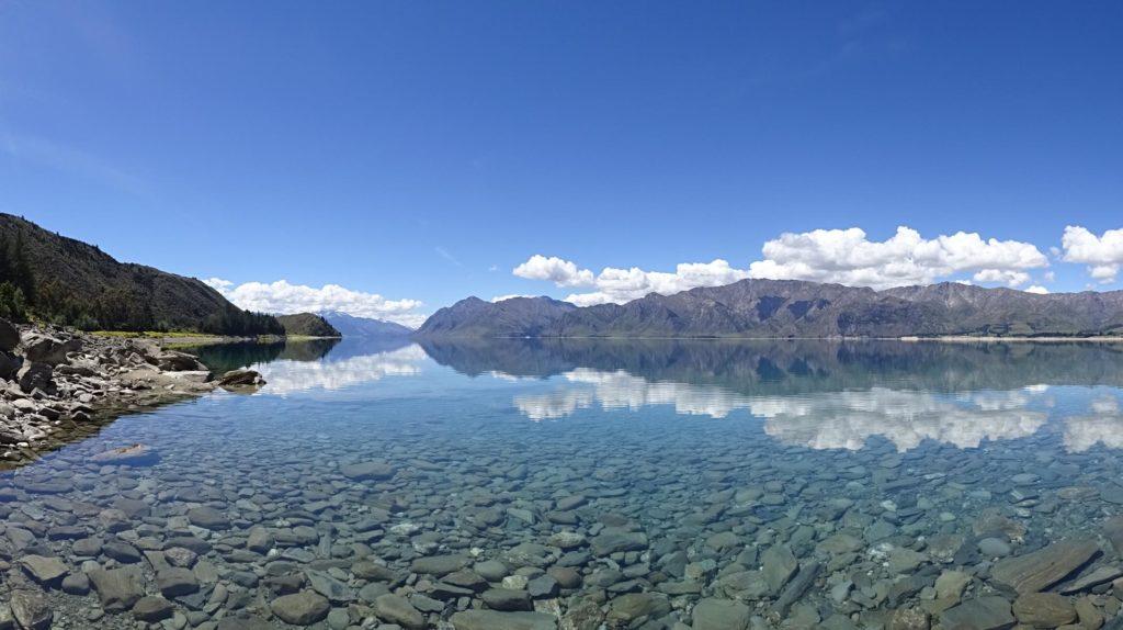 Lake Hawea Spiegelung