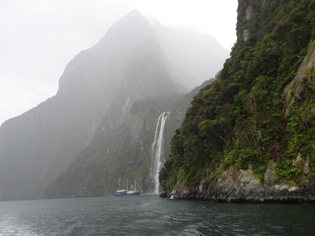 Mildford Sound - Stirling Falls