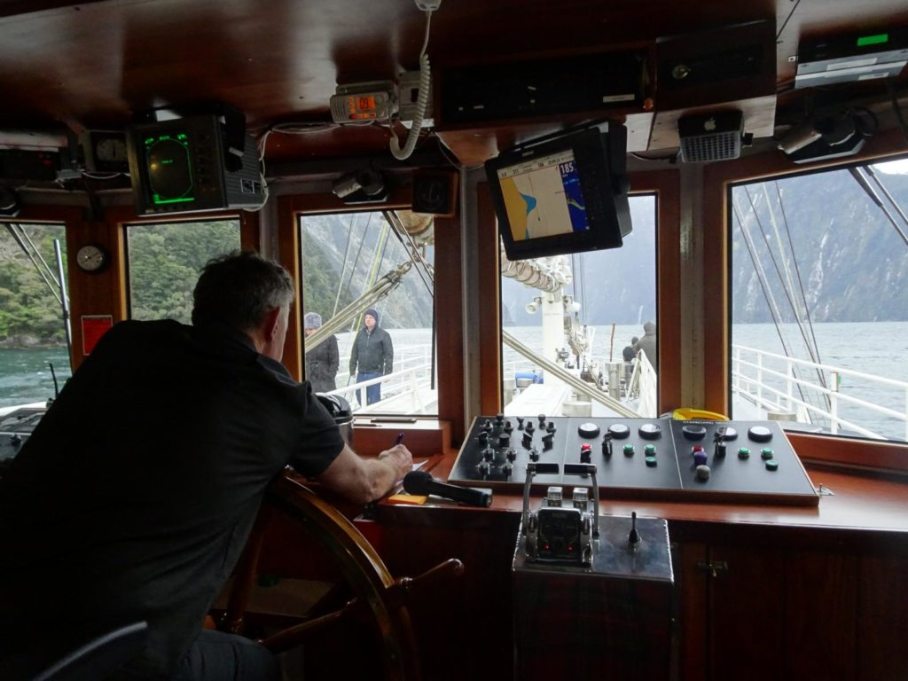 Milford Sound Wanderer Brücke