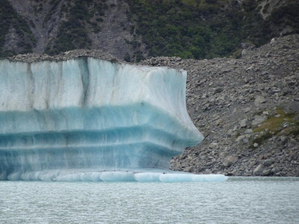 Eis im Tasman Lake