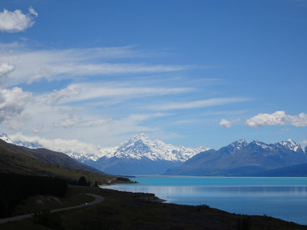 Lake Pukaki mit Mt. Cook