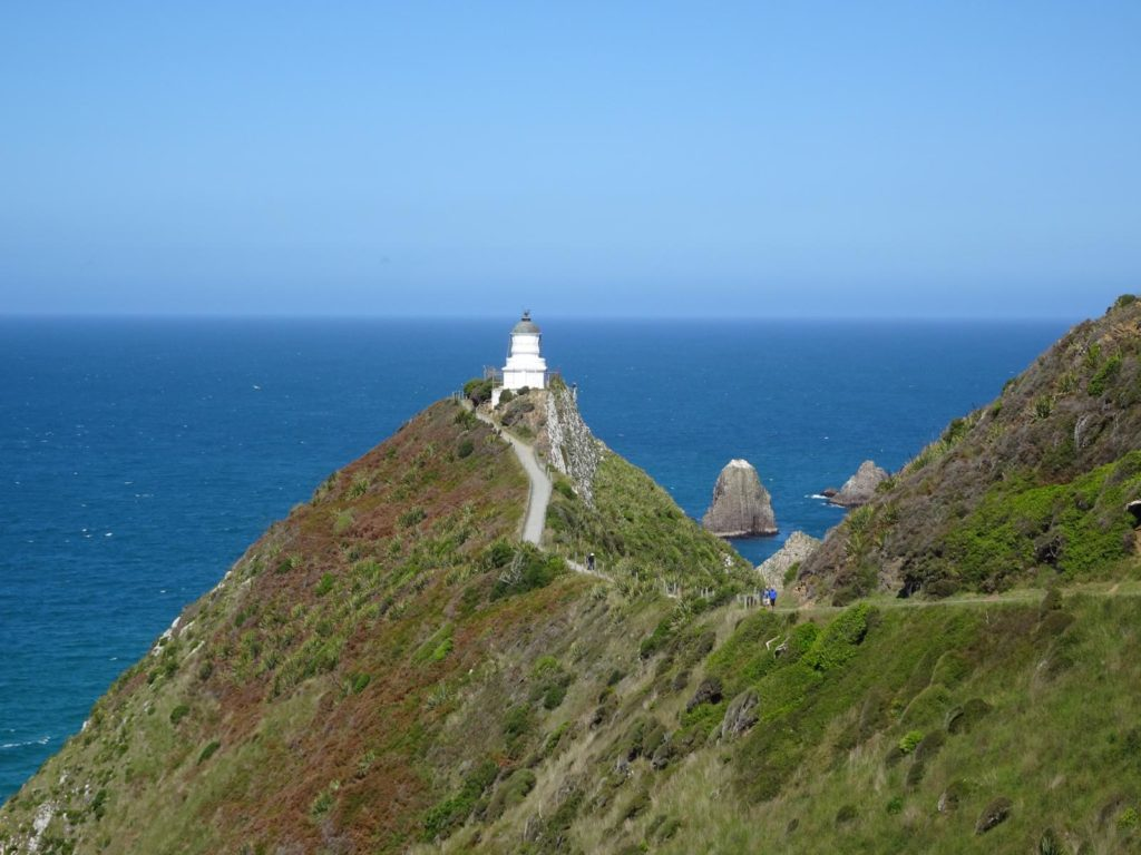 Leuchtturm am Nugget Point
