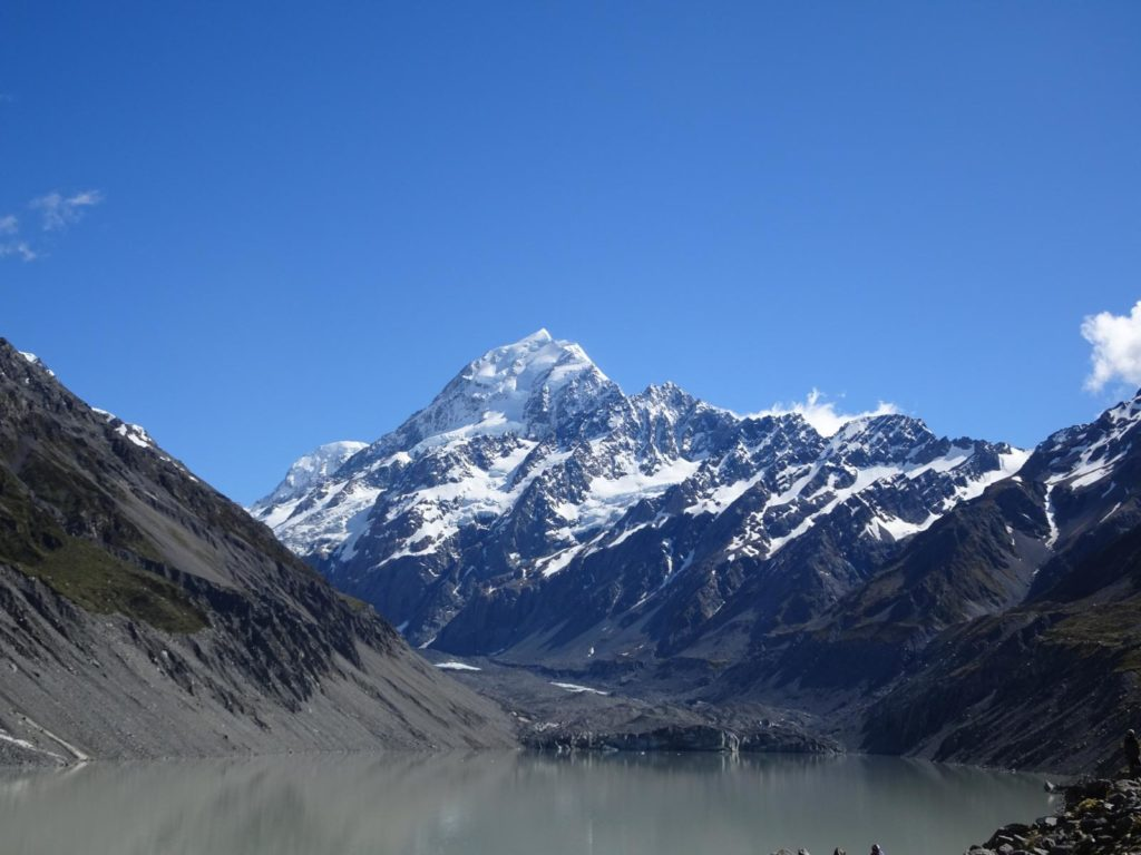 Mt. Cook am Hooker Lake