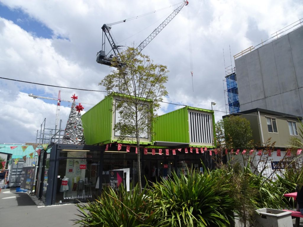 Christchurch - Restart Container Mall