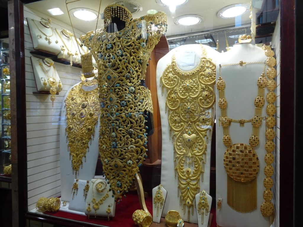 Dubai - Gold Souk Schaufenster