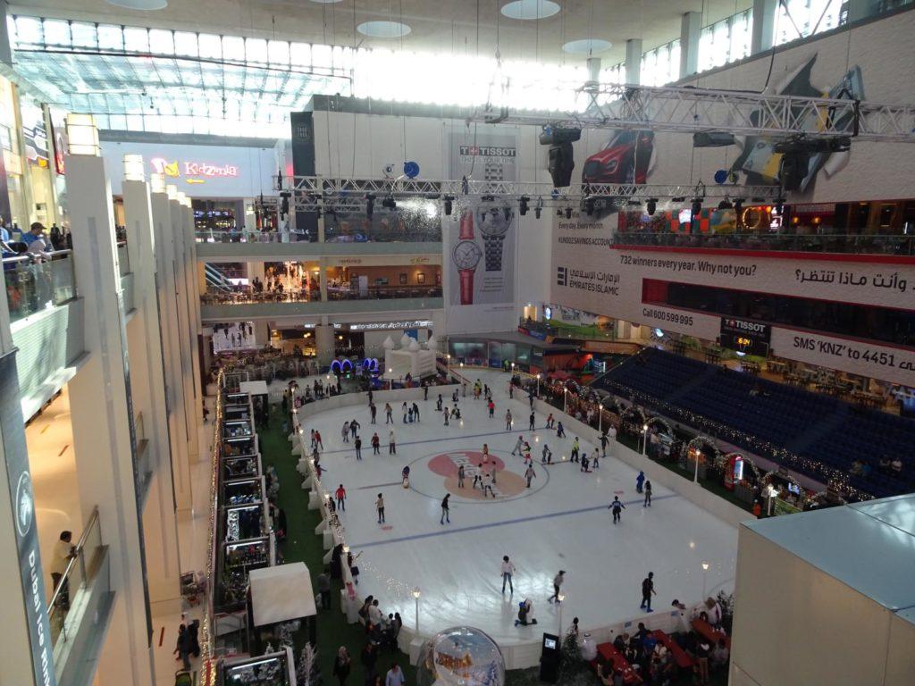 Dubai Mall - Eislaufbahn