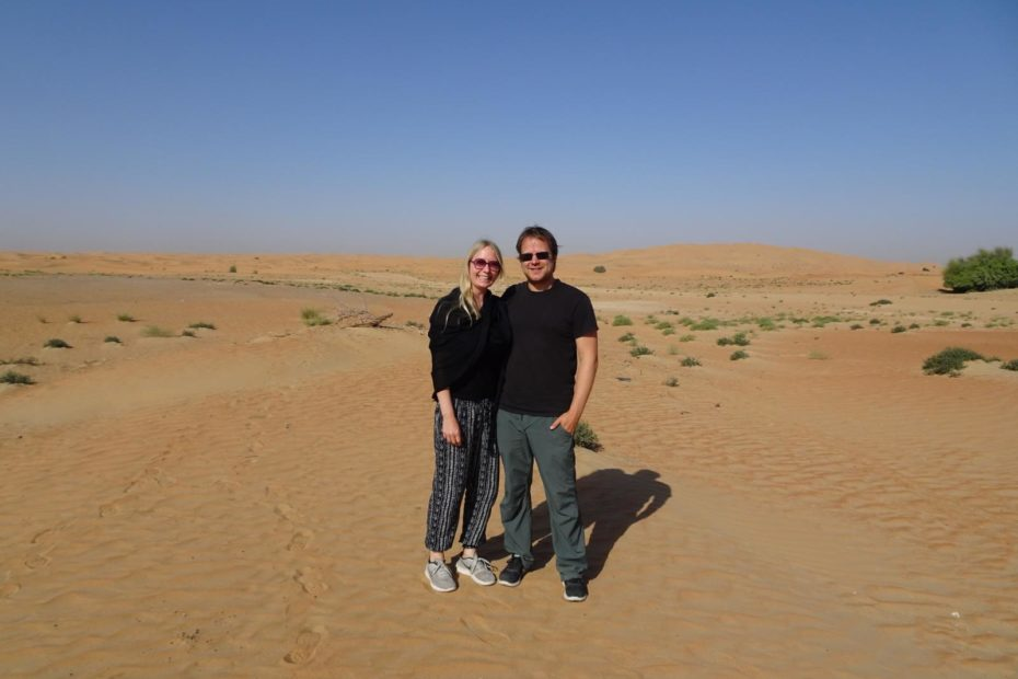 Dubai Desert Conservation Reserve - In der Wüste