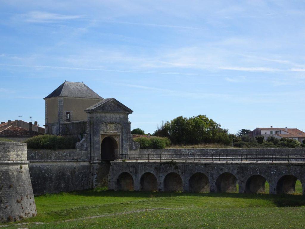St. Martin de Ré - Stadtmauer