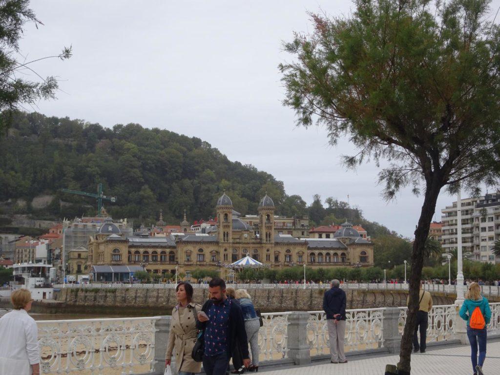 Donastia-San Sebastián - Blick auf das Rathaus