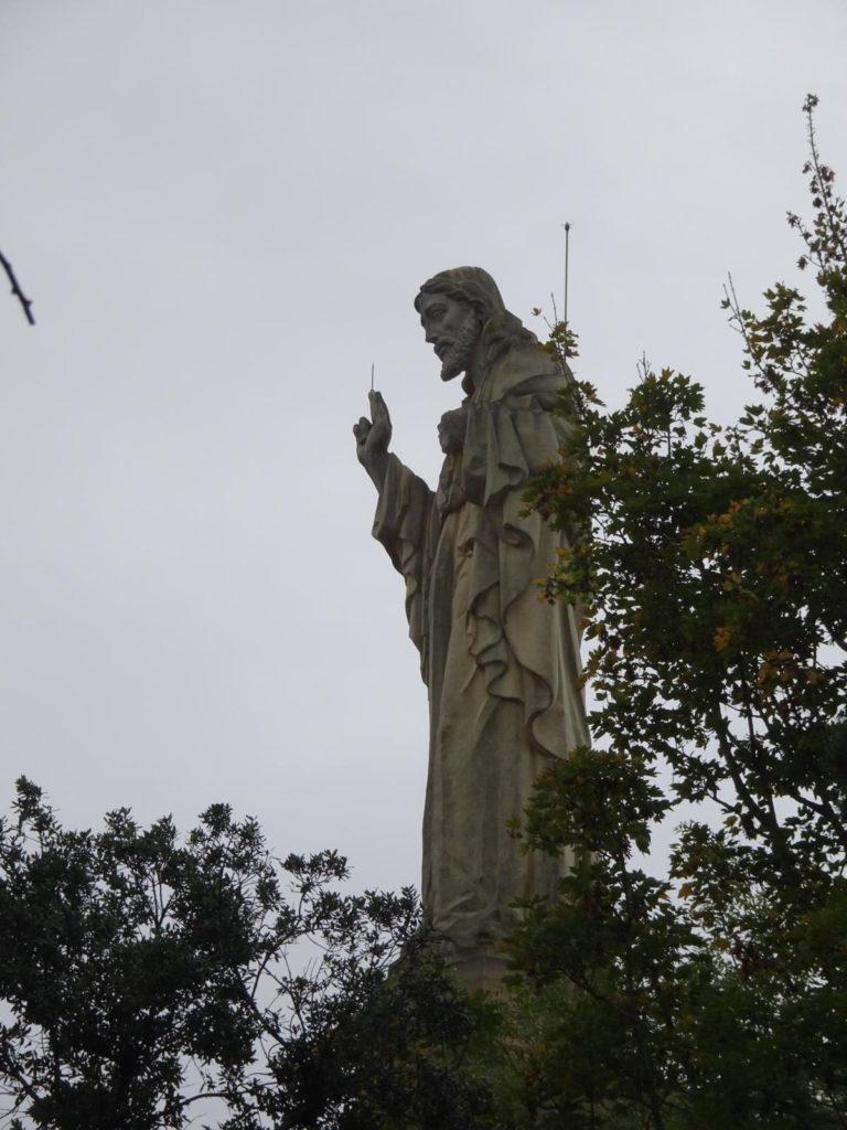 Donastia-San Sebastián - Christusstatue