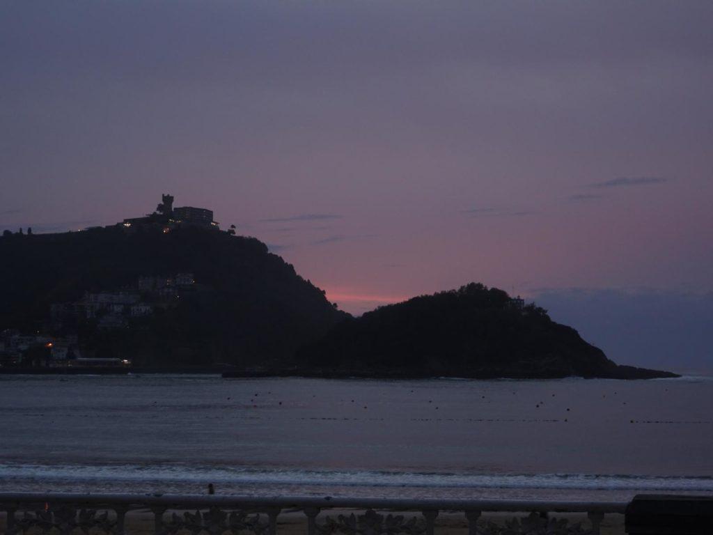 Donastia-San Sebastián - Monte Iguelde im Abendlicht