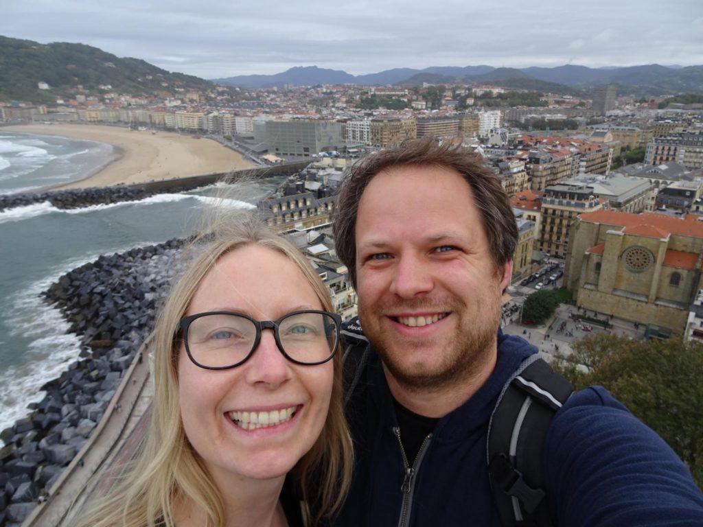 Donastia-San Sebastián - Selfie auf dem Monte Urgull