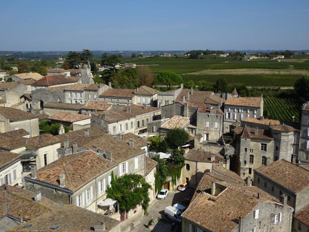 Saint-Émilion - Blick über die Stadt
