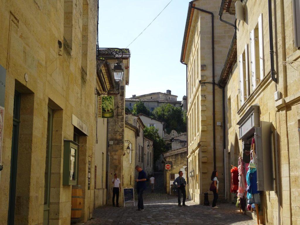 Saint-Émilion - Enge Gassen