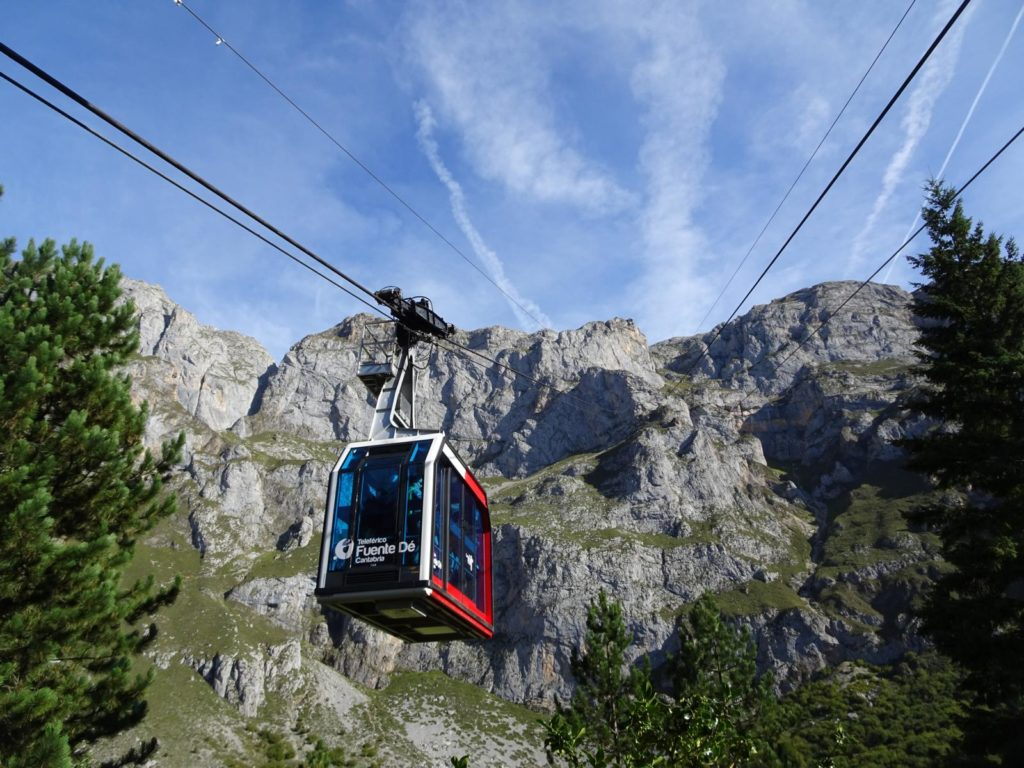 Picos de Europa - Die Seilbahn von Fuente Dé