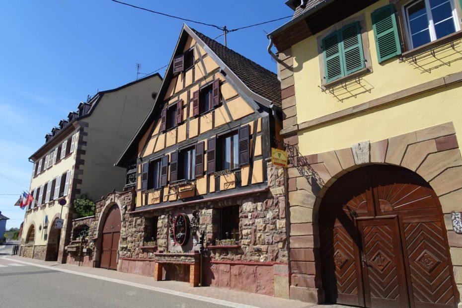 Winzerhof im Elsass