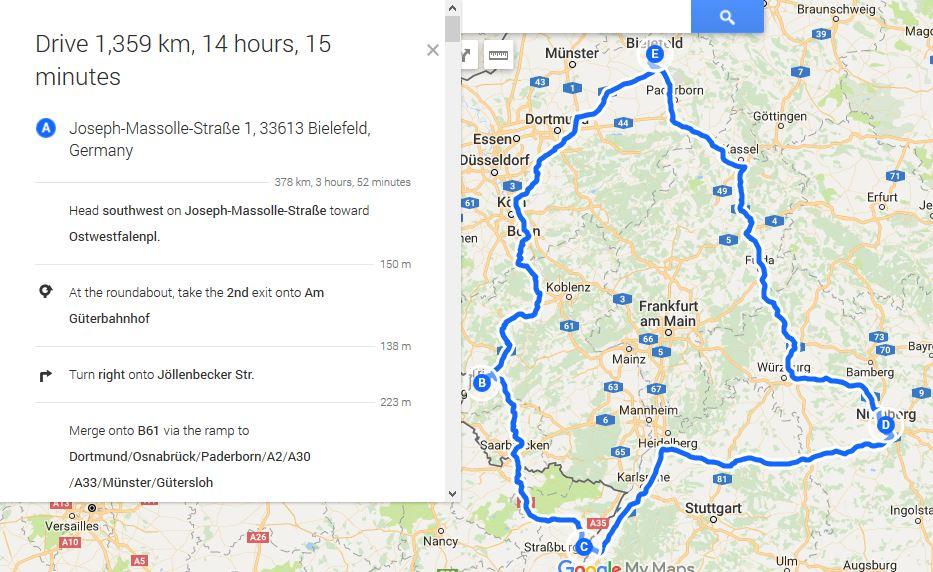Details zur Route