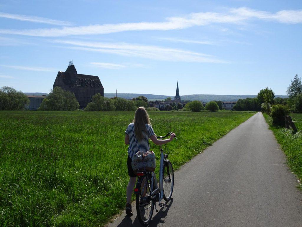Weserradweg bei Holzminden