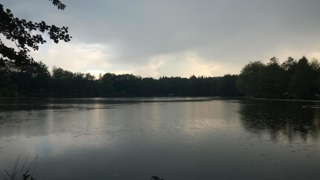Campingpark Eisenach - Blick auf den See