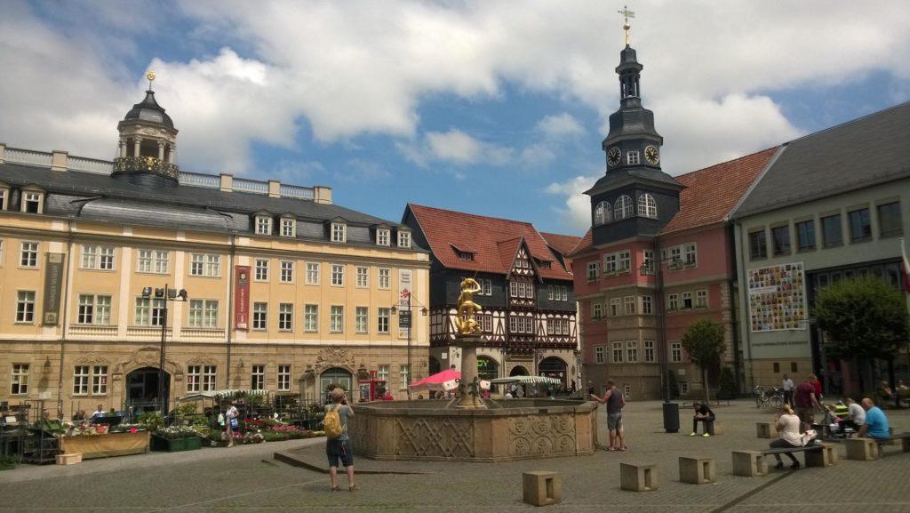 Eisenach - Marktplatz