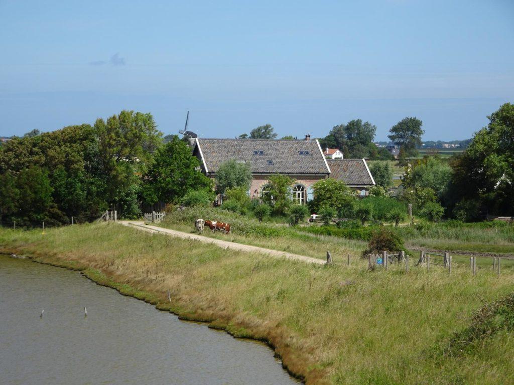 Deich und Hofstelle bei Zierikzee