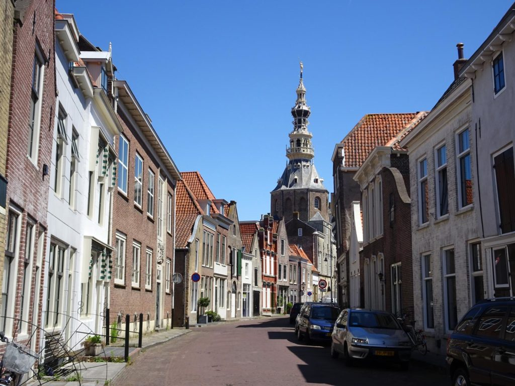 Straße in Zierikzee
