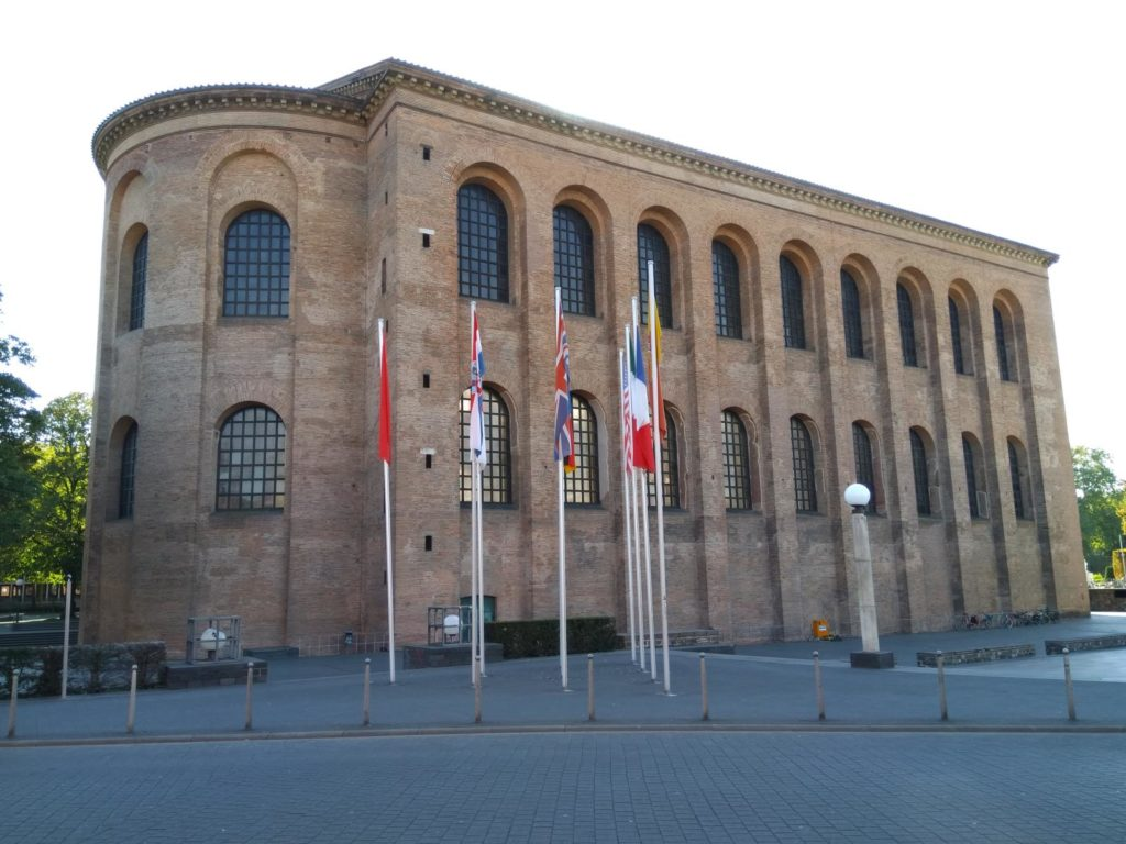 Sehenswürdigkeiten in Trier - Konstantinbasilika