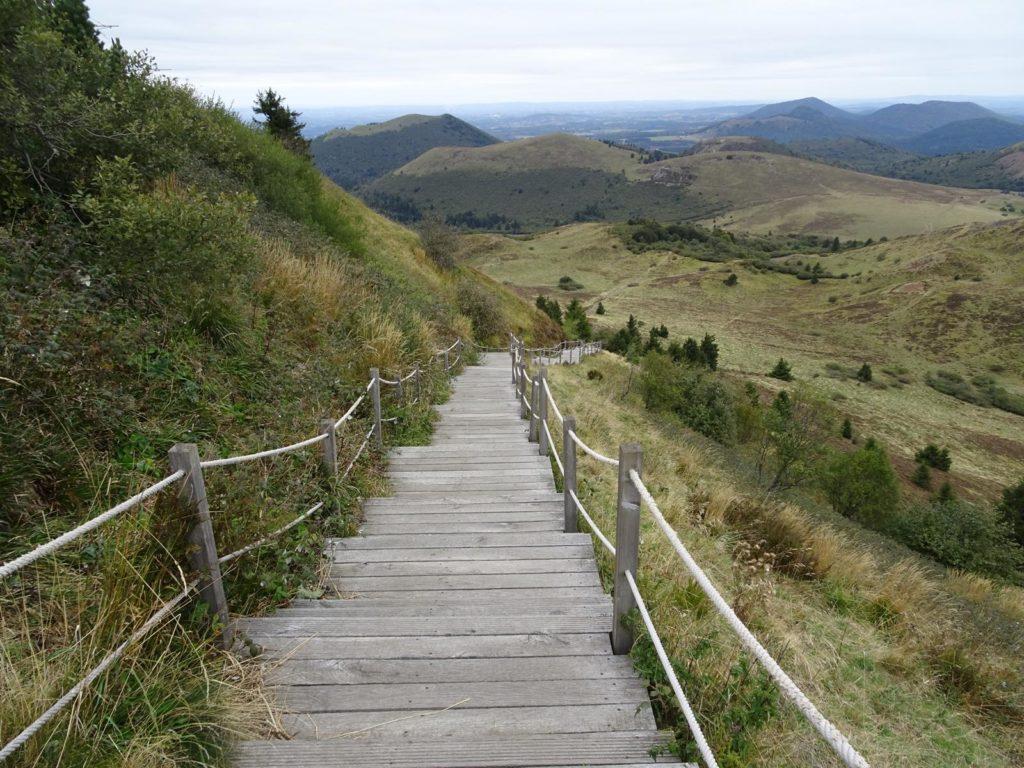 Auvergne -Le Puy de Dome, Vulkanlandschaft bei Volvic