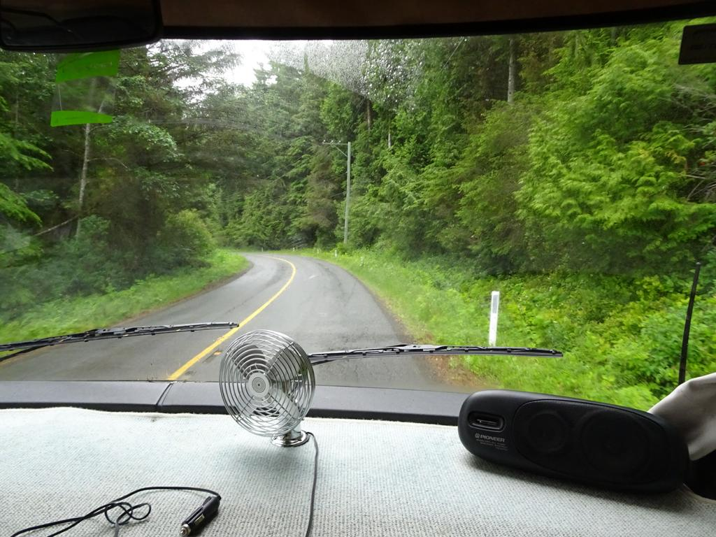 Straße nach Port Renfrew