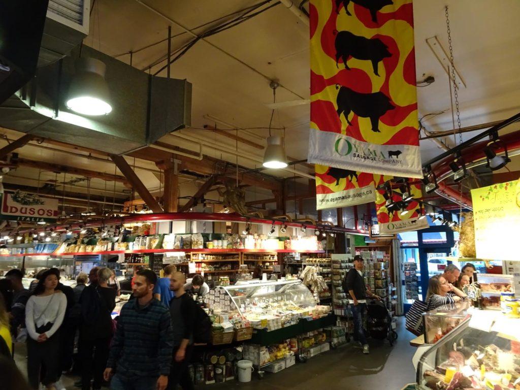 Granville Island - Public Market innen